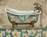 Tropical Bathtub I Prints by Todd Williams