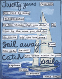Sailing Posters by Monica Martin