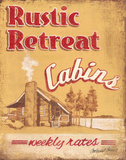 Rustic Retreat Prints by Jones Catherine