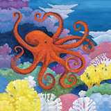 Under the Sea I Plakater af Brent Paul