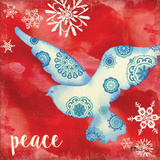 Peace Dove IV Print by Brent Paul