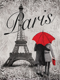 Strolling Paris I Prints by Williams Todd