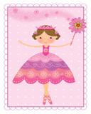 Princess Ballerina I Prints by Jan Bryan-Hunt