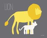 Yellow Zoo II Prints by Kris Ruff