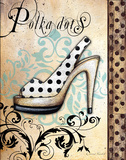 Polka Dots Posters by Donna Knold