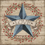 Love Star Prints by Brent Paul