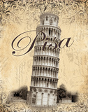 Pisa Print by Todd Williams