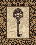 Old World Key I Posters by Todd Williams