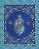 Macedonia Reef Conch Print by Teresa Woo