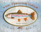 Trout Sign Prints by Washburn Lynnea