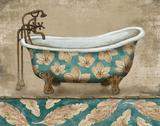 Tropical Bathtub II Plakat af Todd Williams