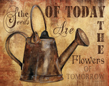 Plant a Garden II Prints by Knold Donna