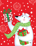 Polar Bear & Presents Prints by Woo Teresa
