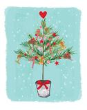 Rustic Tree Prints by Berrenson Sara