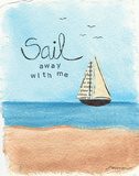 Sail Away Posters by Monica Martin