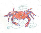Rustic Crab Prints by Sudi Mccollum