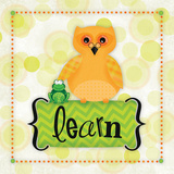 Owl Learn Poster autor Squared R2