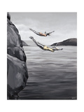 High Dive Giclee Print by Sydney Edmunds