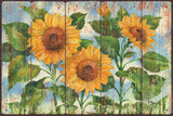 Summer Sunflowers Poster by Paul Brent