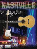 Nashville Plakat af Todd Williams
