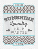 Sunshine Laundry II Prints by Ashley Sta Teresa
