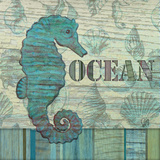 Ocean Poster by Audrey Charlene