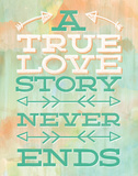 True Love Posters by Ashley Sta Teresa