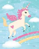 Unicorn IV Print by Woo Teresa