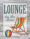 Lounge by the Shore Posters by Todd Williams