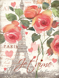 Je Taime I Prints by Julie Paton