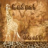 Safari Giraffe Posters af Gregory Gorham