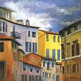 Italian Scene I Poster by Gregory Gorham