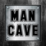 ManCave Metal Sq Posters by Todd Williams
