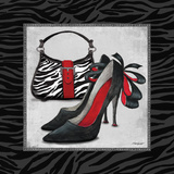 Zebra Fashion II Prints by Todd Williams