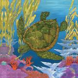 Under the Sea II Schilderij van Brent Paul
