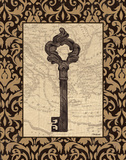 Old World Key II Art by Williams Todd
