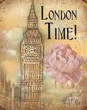 London Time Prints by Charlene Audrey