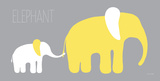 Yellow Zoo VI Prints by Ruff Kris