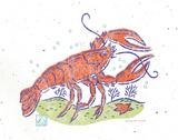 Rustic Lobster Posters by McCollum Sudi