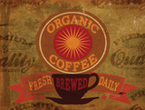 Organic Coffee Posters by Jason Giacopelli