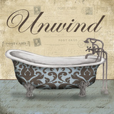 Unwind Tub Prints by Todd Williams