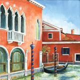 Italian Scene III Print by Gregory Gorham