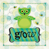 Owl Grow Prints by Squared R2