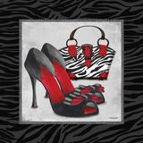 Zebra Fashion I Posters af Todd Williams