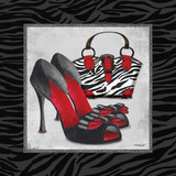 Zebra Fashion I Posters by Todd Williams