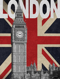 London Plakater af Todd Williams