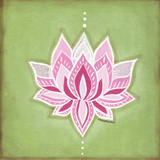 Lotus Flower Posters by Monica Martin