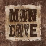 ManCave Lodge Sq Plakater af Todd Williams