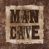 ManCave Lodge Sq Prints by Todd Williams