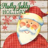 Jolly Santa IV Art by Brent Paul